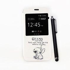 niemand wordt achtergelaten patroon pu full body case met standaard en een stylus pen voor samsung galaxy s5 i9600 – EUR € 6.71