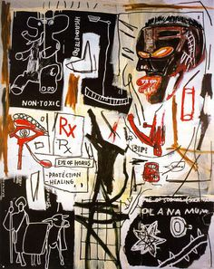 Melting Point of Ice, 1984 - Jean-Michel Basquiat