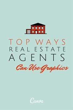 5 ways real estate agents use graphics by Rebekah Radice - engage audience, generate leads, announce listings, attract buyers, establish influence Real Estate Office, Real Estate Business, Real Estate Marketing, Business Tips, Marketing Guru, Real Estate Leads, Selling Real Estate, Real Estate Tips, Real Estate Branding