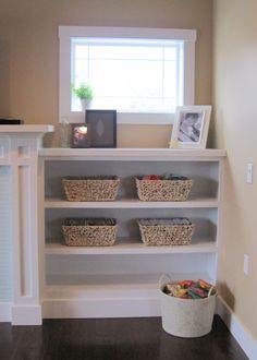 built+in+shelves+living+room+white+bookcases.jpg (1141×1600)