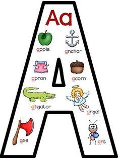 ABC ~ EASY AS 1,2,3! {ALPHABET ANCHOR CHARTS, ACTIVITIES, & PRINTABLES} - TeachersPayTeachers.com