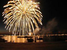 Best place to watch the fireworks, Okoboji, IA