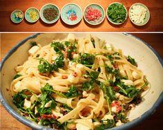 Zitronen&Rucola-Pasta nach Donna Hay   derultimativekochblog