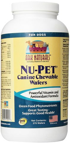 Ark Naturals Nu-Pet Canine Wafers 270 wafers *** Unbelievable dog item right here! : Dog supplies for health
