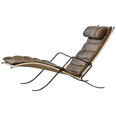 Rare Fabricius and Kastholm Grasshopper Lounge Chair  | From a unique collection of antique and modern lounge chairs at https://www.1stdibs.com/furniture/seating/lounge-chairs/