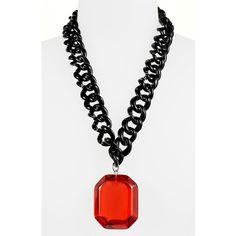 Adia Kibur 'gem Chain' Necklace ($42) ❤ liked on Polyvore