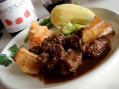 Boeuf bourguignon, mythical French classic beef wine stew