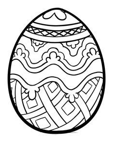 Easter Egg Coloring PagesSpring