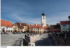 Sibiu an Upcoming Destination in Europe: Big Square (Piata Mare)  This is one of the most happening places in Sibiu where the City hall surrounds one side of the square while shops and restaurants border the other two. The fountain in the center magnifies the liveliness of the place.
