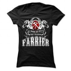A few Women become Farrier T Shirts, Hoodies. Get it now ==► https://www.sunfrog.com/Jobs/A-few-Women-become-Farrier-Ladies.html?41382
