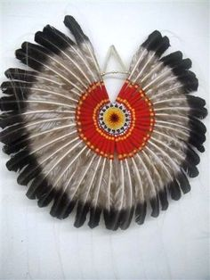 Native American Antique Feather Bustle