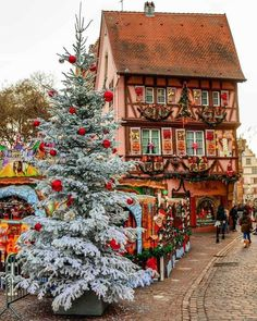 Strasbourg, France transforms into a real life Christmas village. I have been to Strasbourg before, but Strasbourg, France transforms into a real life Christmas village. I have been to Strasbourg before, but never during Christmas. Christmas In Europe, Christmas Town, Christmas Travel, Christmas Villages, Noel Christmas, Winter Christmas, All Things Christmas, Christmas Markets, Christmas Ideas