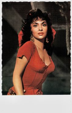 https://flic.kr/p/PXuDrq | Gina Lollobrigida in Notre-Dame de Paris (1956) | German postcard by Kolibri-Verlag G.m.b.H., Minden (Westf.), no. F 18. Photo: Constantin. Publicity still for Notre Dame de Paris (Jean Delannoy, 1956).   Italian actress and photojournalist Gina Lollobrigida (1927), was one of Europe's most prominent film stars of the 1950s. 'La Lollo' was the first European sex symbol of the post war years and she paved the way into Hollywood for her younger colleagues Sophia…