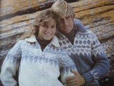 White Buffalo Fair Isle Graph Book 2 - Knitted His and Hers Cardigans, Pullovers and Bomber Sweaters/Jackets Sizes: 30 - 46, Canadian Yarn