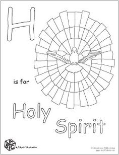 pentecost activity sheets