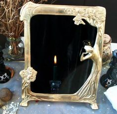 scrying mirror ~ easy to make