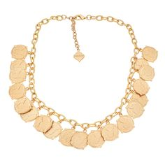 Short Calypso Necklace - Coins // FORNASH