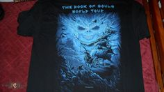 Image result for book of souls tour shirts