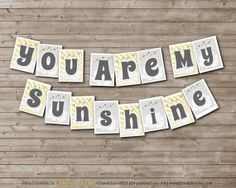 INSTANT Download My LITTLE SUNSHINE Baby Shower or by DandeAve, $8.00