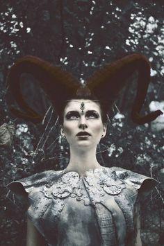 Marcin Nagraba – The Ritual Warrior Cyberpunk, Greece Goddess, Grunge, Steampunk, Dark Beauty Magazine, Medieval, Maleficent, Archetypes, Dark Fashion