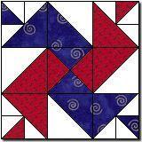 Double Spinwheels Quilt Block