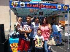 Pop Up Tent for FrutiFresca. PromotionalDesignGroup.com