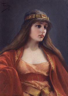 Bedouin Girl (1891). Luis Ricardo Falero (Spanish, 1851-1896). Oil on canvas.