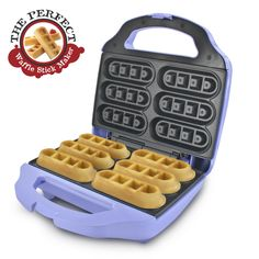 Make waffles perfect for dunking with the Smart Planet Waffle Stick Maker, available at the Food Network Store!