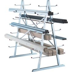 West Horizontal Storage Rack - 5ft. x 3ft. x 5 1/2ft. Size