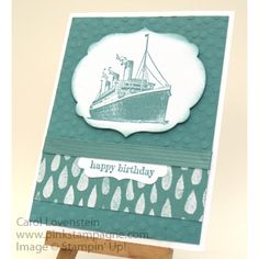Sneak Peek – Traveler (1 of 3) BZB Stamp Together Card Ideas (Designed by Alicia Graham) Carol Lovenstein ~ Stampin' Up!