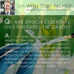 Pure Grade Essential Oils #LiveEpoch