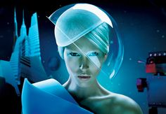 If you've got to wear an oversize transparent thing over your head, it's a step up on Fifth Element Gary Oldman.