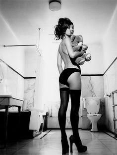 Kate Moss photo by Kate Garner, 1991