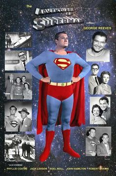 'The Adventures of Superman' First Superman, Batman Y Superman, Superman And Lois Lane, Supergirl Superman, Superman Movies, Adventures Of Superman, Superman Family, Superman Stuff, Superman Logo