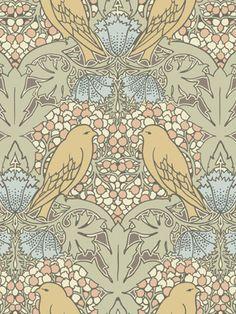 birds and berries/charles voyseyCharles Voysey
