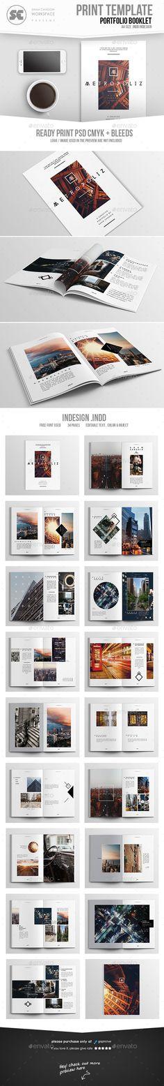 Metropoliz : Multipurpose Creative Portfolio Brochure Template InDesign INDD. Download here: http://graphicriver.net/item/metropoliz-multipurpose-creative-portfolio/16117826?ref=ksioks