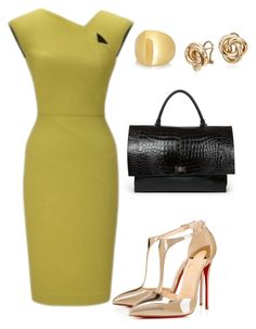 Helia's style theory by heliaamado on Polyvore featuring Christian Louboutin, Givenchy, Maiyet, Blue Nile and Roland Mouret