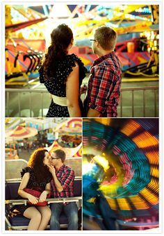 We'll have to suggest this next year!  We'd love to do an engagement session at the fair.
