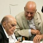 Oscar Niemeyer and Norman Foster