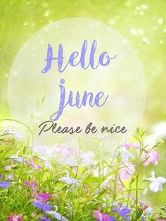 Hello June Month
