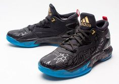 the best attitude 76d73 45e4a adidas D Lillard 2 Year of the Monkey. The adidas D Lillard 2 Year of the  Monkey celebrates Chinese New Year and comes in black, gold and red.