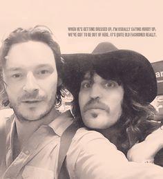 Julian Barratt & Noel Fielding... THE MIGHTY BOOSH. These guys are it. They're just... it. ~M