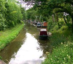 Shropshire Union Canal near Church Eaton
