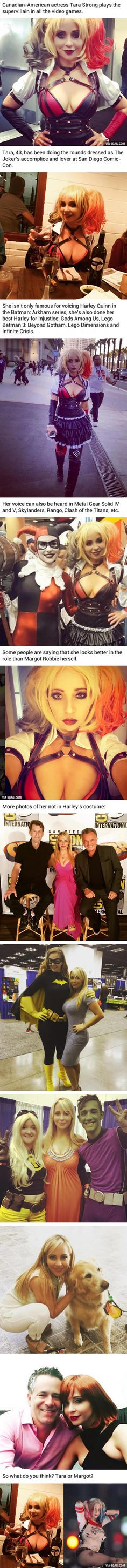 This Woman Plays Harley Quinn In All The Video Games... And She Is Already 43