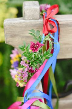 Paryskie klimaty - pracownia : Letni wianek kwiatowy * kolorowy wianek ślubny