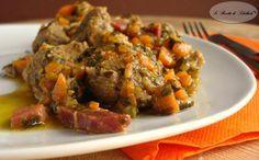 Spezzatino+con+carote+e+prosciutto