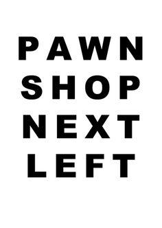 PAWN SHOP Typography, Company Logo, Logos, Shopping, Black, Letterpress, Letterpress Printing, Black People, Logo