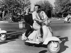 Bobby Darin and Sandra Dee - while filming come September:-)
