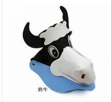 Vaca kids party supplies   baby shower eva chapéu viseira criança chapéu  dos desenhos animados decoração db9a442e3fe