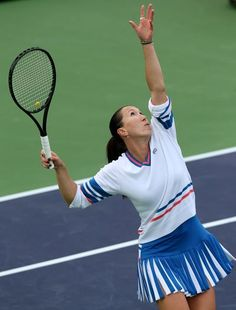 The Fila carwash dress. Jelena Jankovic in Indian Wells_Copyright Getty Images